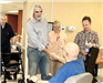 Guy Penrod Speaking with Patients