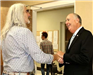Mayor Kenneth Greets Penrod