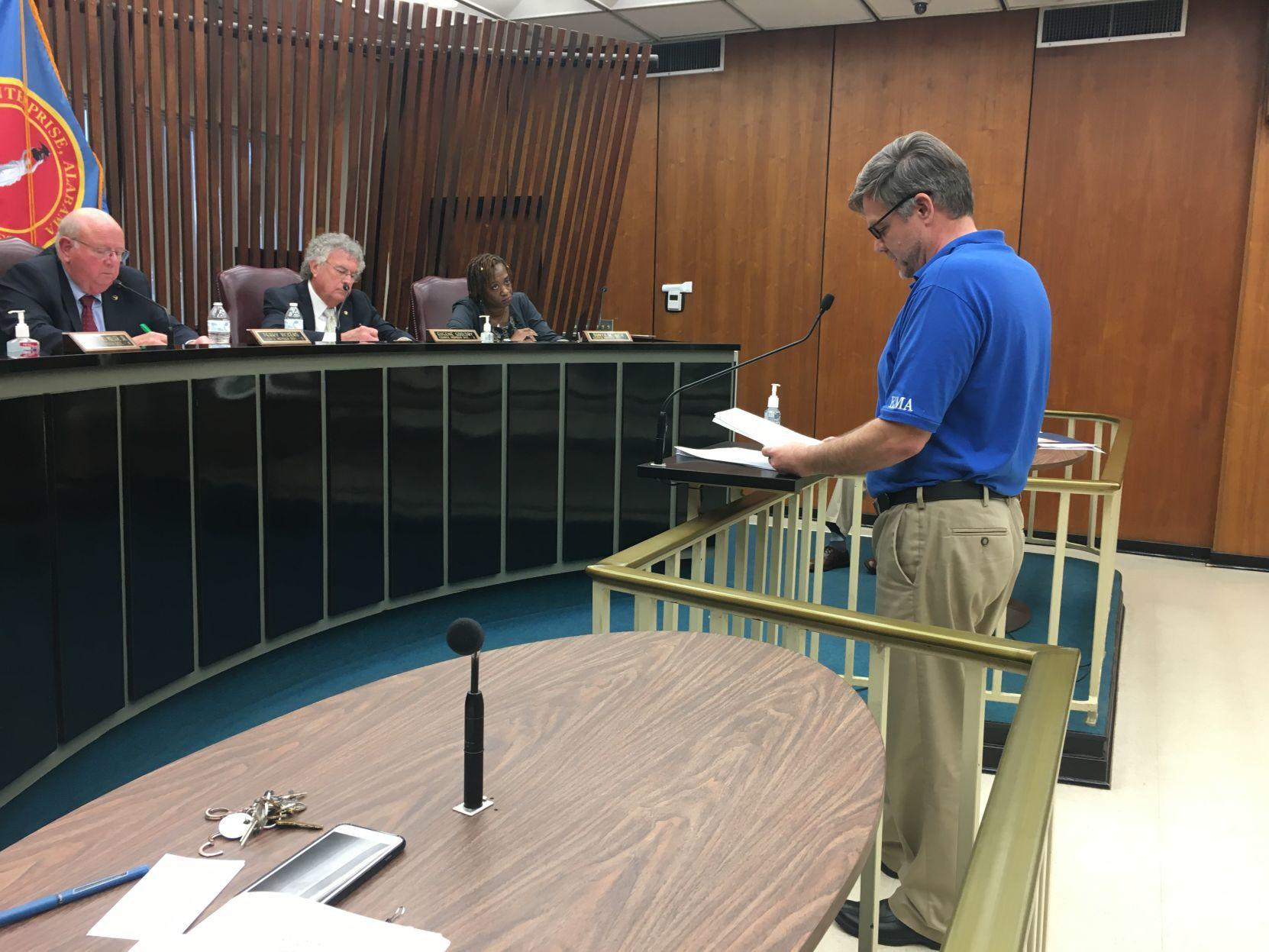 EMA Director Brown provides COVID-19 update to Enterprise City Council - News - dothaneagle.com