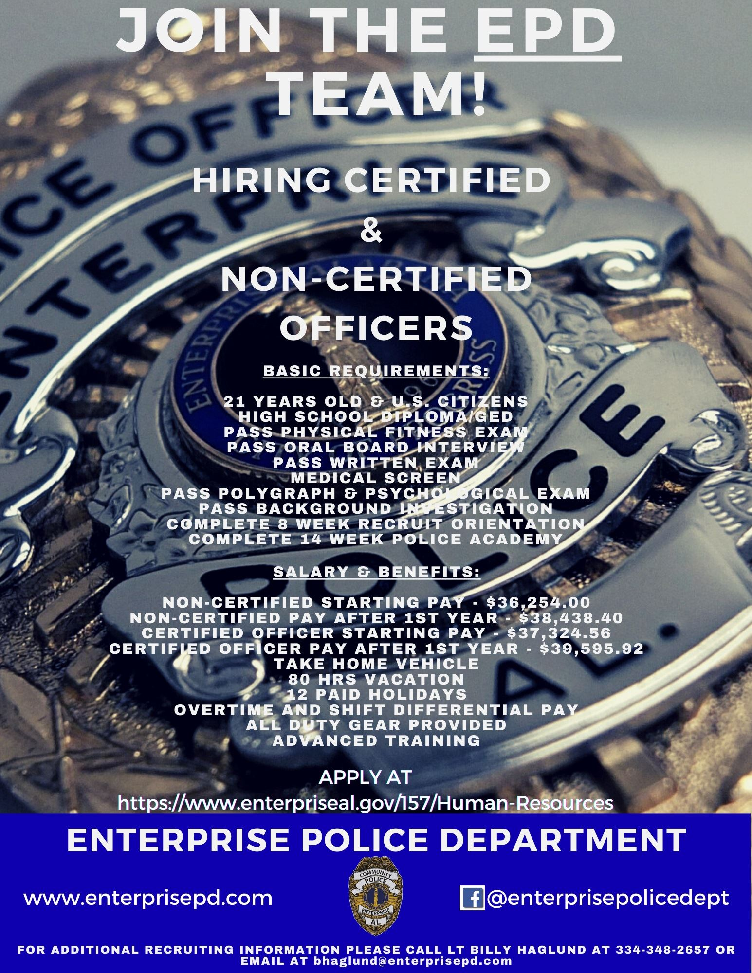 police job flyer 6.0 fb